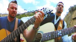 """Watch These Two Guys Shred An Amazing Acoustic Cover Of """"Eye Of The Tiger"""" With This 360 Video!"""