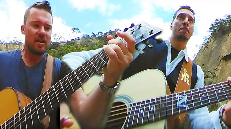 "Watch These Two Guys Shred An Amazing Acoustic Cover Of ""Eye Of The Tiger"" With This 360 Video! 