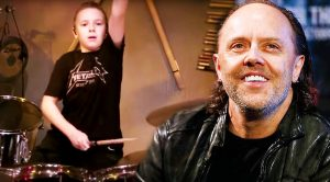 "Move Over, Lars Ulrich! 10-Year Old Avery Rocks Metallica's ""Moth Into Flame"" And It's Glorious!"