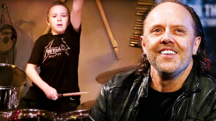 "Move Over, Lars Ulrich! 10-Year Old Avery Rocks Metallica's ""Moth Into Flame"" And It's Glorious! 