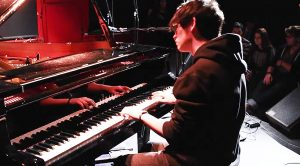 Young Kid Stuns Cafe With Epic Piano Classic Rock Mashup—This Is Insane!