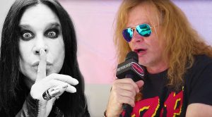 Dave Mustaine Spills The Crazy Story About The First Time He Heard Black Sabbath!