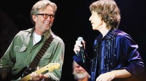 Eric Clapton Joins Rolling Stones For Phenomenal Cover Of This Blues Classic—His Solo Is Insane!