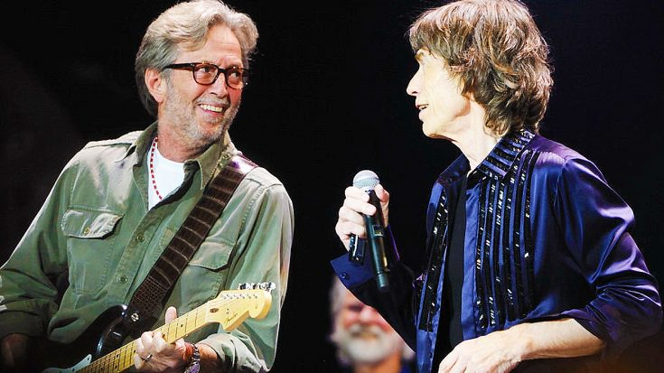 Eric Clapton Joins Rolling Stones For Phenomenal Cover Of This Blues Classic—His Solo Is Insane! | Society Of Rock Videos