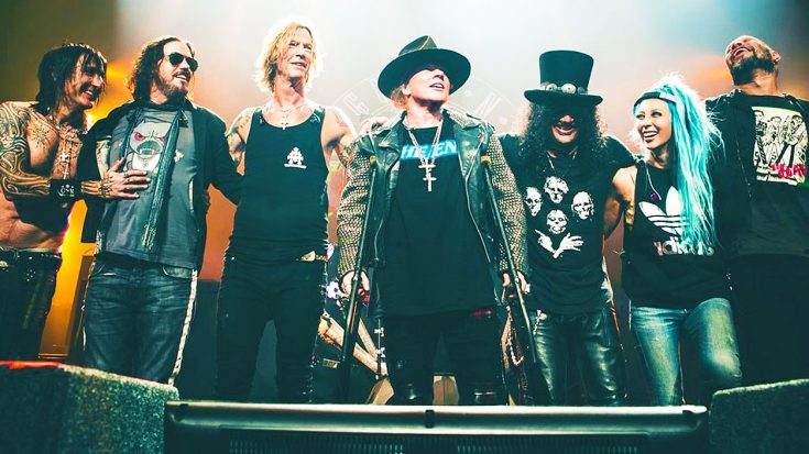 Great News For Guns N' Roses! The Band Just Broke A Record Many Thought Was Unbeatable! | Society Of Rock Videos