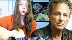 Young Lady Channels Her Hero Lindsey Buckingham, And Crushes This Fleetwood Mac Cover!