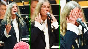 Patti Smith Struggles Through Emotional Bob Dylan Cover At Nobel Prize Ceremony