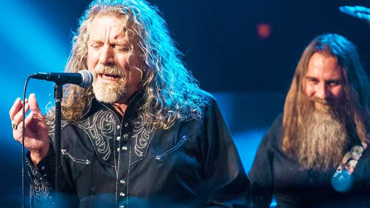 "Robert Plant Returns To The Stage For Thrilling Performance Of ""Babe I'm Gonna Leave You""! 