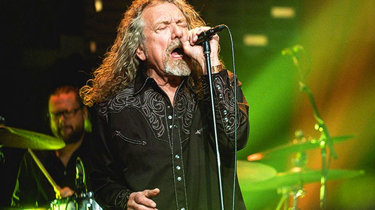 """Robert Plant Takes His Voice To Another Level In Sensational Performance 