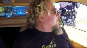 Sammy Hagar Takes Jay Leno For A Ride In His Rare Car—Gets Pulled Over!