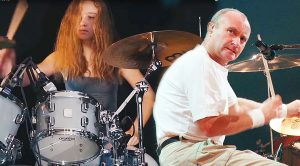 """17-Year Old Sina Cranks It Up For Legendary Cover Of Genesis' """"Land Of Confusion""""!"""