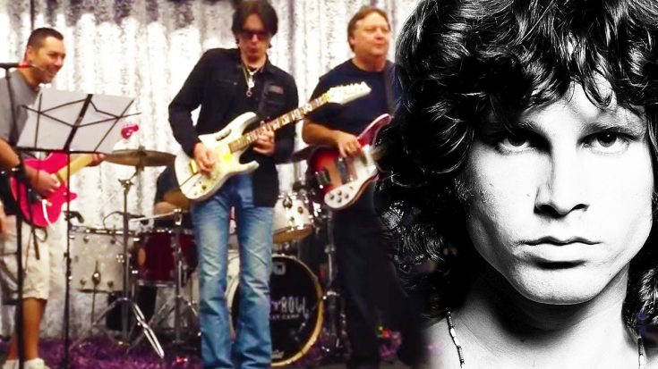 """Steve Vai Tributes Jim Morrison With Sensational Cover Of The Door's """"Roadhouse Blues""""! 