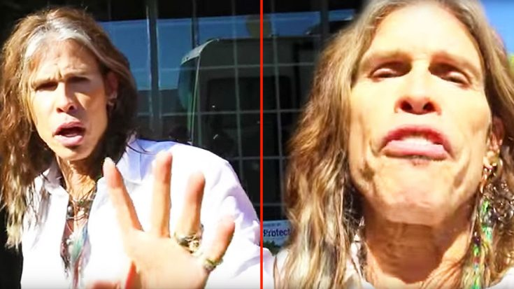 Steven Tyler Takes Paparazzi's Camera, And Goes On Epic Rant About Privacy! | Society Of Rock Videos