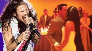 Steven Tyler Surprises Bride And Groom—Crashes Wedding To Perform Couple's First Dance!