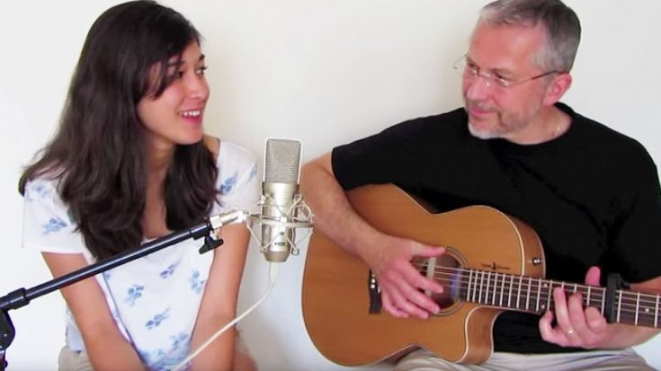 "Father And Daughter Share Emotional Duet Of Fleetwood Mac's ""Landslide""—Grab A Tissue For This! 
