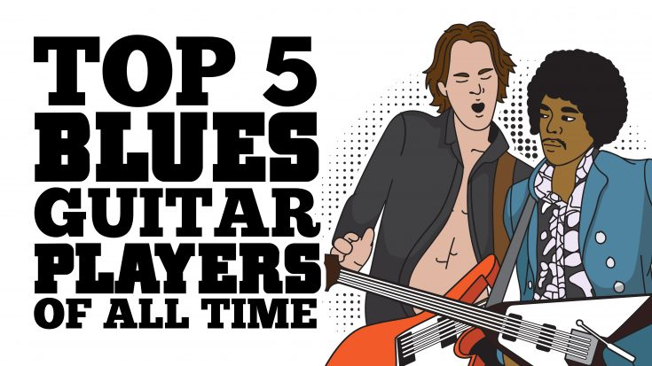 Top 5 Blues Guitar Players Of All Time | Society Of Rock Videos