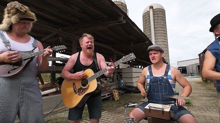 These Hillbilly Rockers Are Back At It Again With Their Badass Cover Of This Punk Rock Classic! | Society Of Rock Videos
