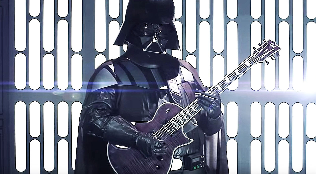 darth vader and his clone army gear up for this rockin
