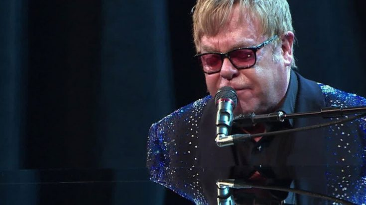 Elton John Doesn't Leave A Dry Eye In The House After Heartbreaking Tribute To George Michael   Society Of Rock Videos