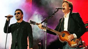 George Michael Surprises Everyone By Joining Paul McCartney On Stage For 'Drive My Car' Live!