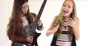 "You've Gotta Hear The Unbelievable Way These 11 Year Old Girls Tear Up ""Knocking On Heaven's Door"""