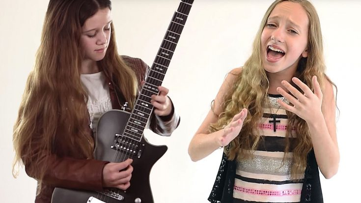 "You've Gotta Hear The Unbelievable Way These 11 Year Old Girls Tear Up ""Knocking On Heaven's Door"" 