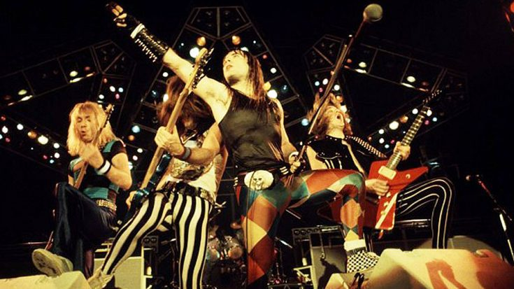 In 1982, An Audience Witnessed Iron Maiden Perform This Smash Hit, And The Rest Is History…   Society Of Rock Videos