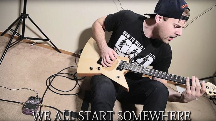 If You Want To Learn How To Play Metal Guitar, This Guy Has Got You Covered… Kinda | Society Of Rock Videos