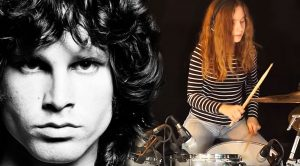 Teenage Girl Pays Ultimate Tribute To The Doors With Crazy Good Drum Cover Of 'Light My Fire'!