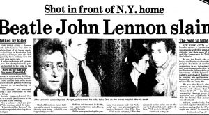 36 Years Ago Today: John Lennon Was Tragically Killed And The World Would Never Be The Same, Again…