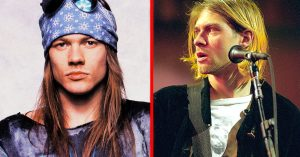 24 Years Ago: Axl Rose's Hatred For Kurt Cobain Nearly Turns Violent, And It's All Because Of This…