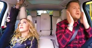 Love Her Or Hate Her, Madonna Is Pretty Damn Entertaining On 'Carpool Karaoke'