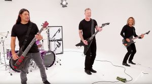 Here's 7 Minutes Of Metallica Goofing Off On The Set Of A Music Video Shoot!