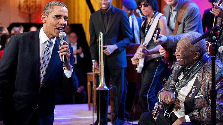 B.B. King Performs 'Sweet Home Chicago' At The White House, But No One Expected This Ending! | Society Of Rock Videos