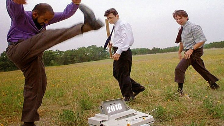 Remember The Printer Scene From Office Space Yeah