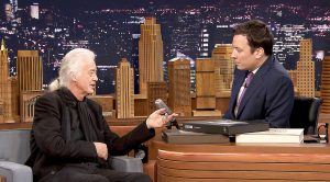 Jimmy Page Appears On Late Night TV And Jimmy Fallon Just Can't Contain Himself…