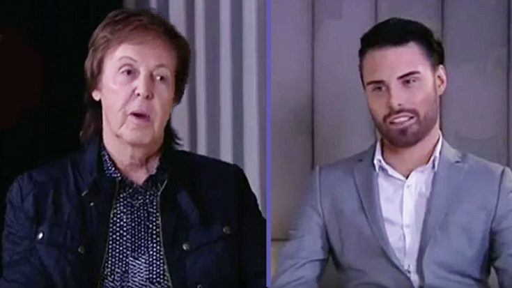 Paul McCartney Had To Politely Decline This Interviewer's Offer To Buy Him A Certain Christmas Present… | Society Of Rock Videos