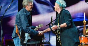 "Hear Eric Clapton Reunite With Old Friends The Rolling Stones For Bluesy New ""I Can't Quit You Baby"""