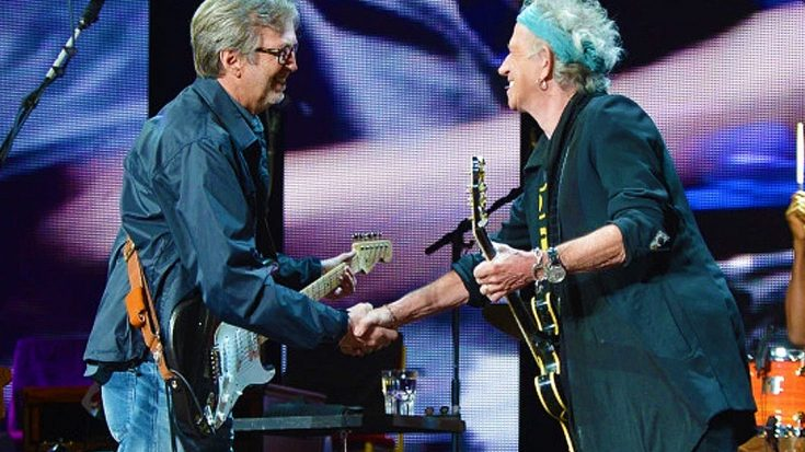 "Hear Eric Clapton Reunite With Old Friends The Rolling Stones For Bluesy New ""I Can't Quit You Baby"" 