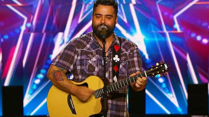 "Wounded Warrior Dazzles 'America's Got Talent' With Emotionally Charged ""Simple Man"" Performance 