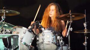 17-Year-Old Girl Turns Boston's 'Smokin' Into Drum Written Masterpiece!