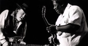 "Teacher Meets Student As B.B. King And Stevie Ray Vaughan Absolutely Slay ""Texas Flood"""