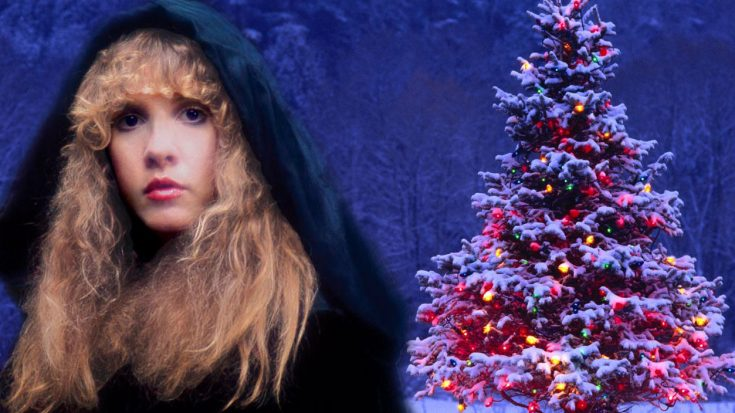 It's Not Christmas Without Stevie Nicks' Beautiful Take On 'Silent Night'! | Society Of Rock Videos