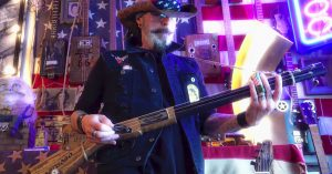 Swamp Rocker Shreds Gritty Southern Rock On A Double Barrel Shotgun Guitar