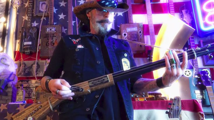 Swamp Rocker Shreds Gritty Southern Rock On A Double Barrel Shotgun Guitar | Society Of Rock Videos
