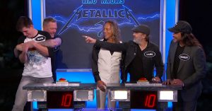 James Hetfield Is Absolutely Hilarious In Metallica's Late Night Trivia Battle Against Superfan