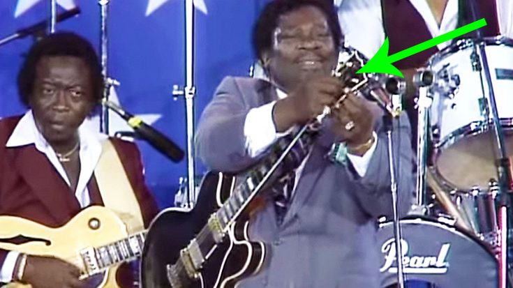 B.B. King Manages To Keep His Cool When This Unfortunately Happens… | Society Of Rock Videos