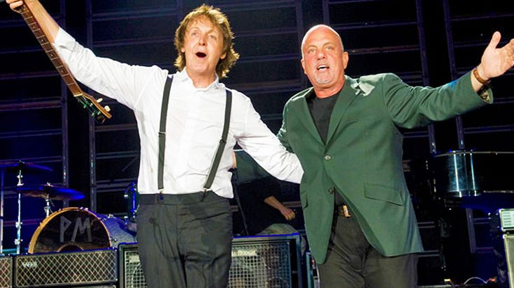 Paul McCartney And Billy Joel Treat New York To Legendary Duet Of This Beatles Classic!   Society Of Rock Videos