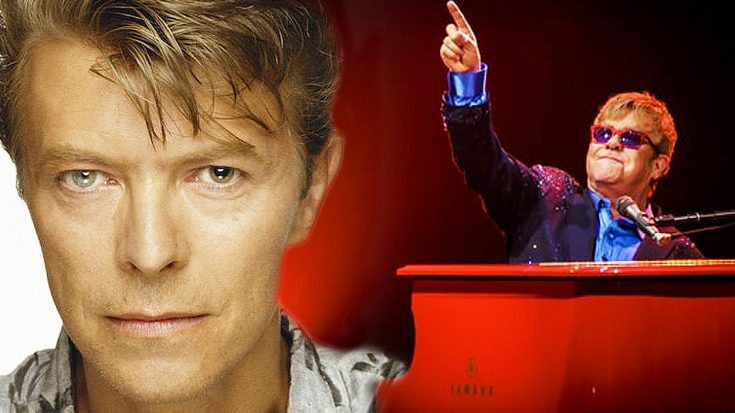 Elton John's Beautiful and Touching Tribute To David Bowie Will Bring Tears To You Eyes | Society Of Rock Videos