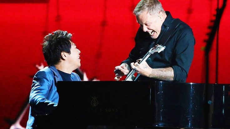 Concert Pianist Joins Metallica On Stage For Unforgettable, Riveting Performance Of 'One'